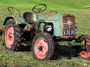 Použité stroje a traktory