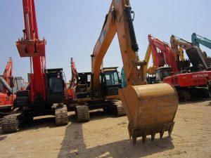 Použité stavebné stroje